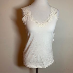Off White Lace Camisole